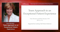 The Team Interaction Approach to the Patient Experience Webinar Thumbnail
