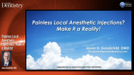 Painless Local Anesthetic Injections? Make it a Reality! Webinar Thumbnail