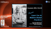 Laser Use in Modern Dental Practices Webinar Thumbnail